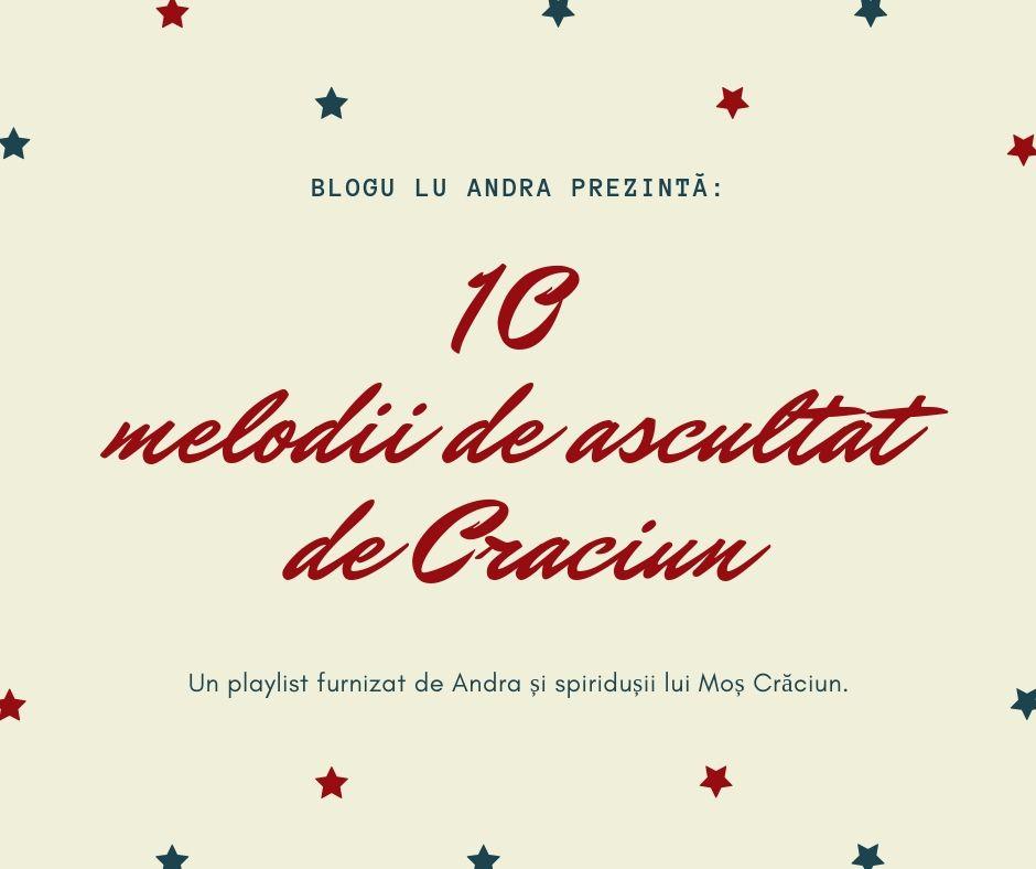 melodii de ascultat de Crăciun