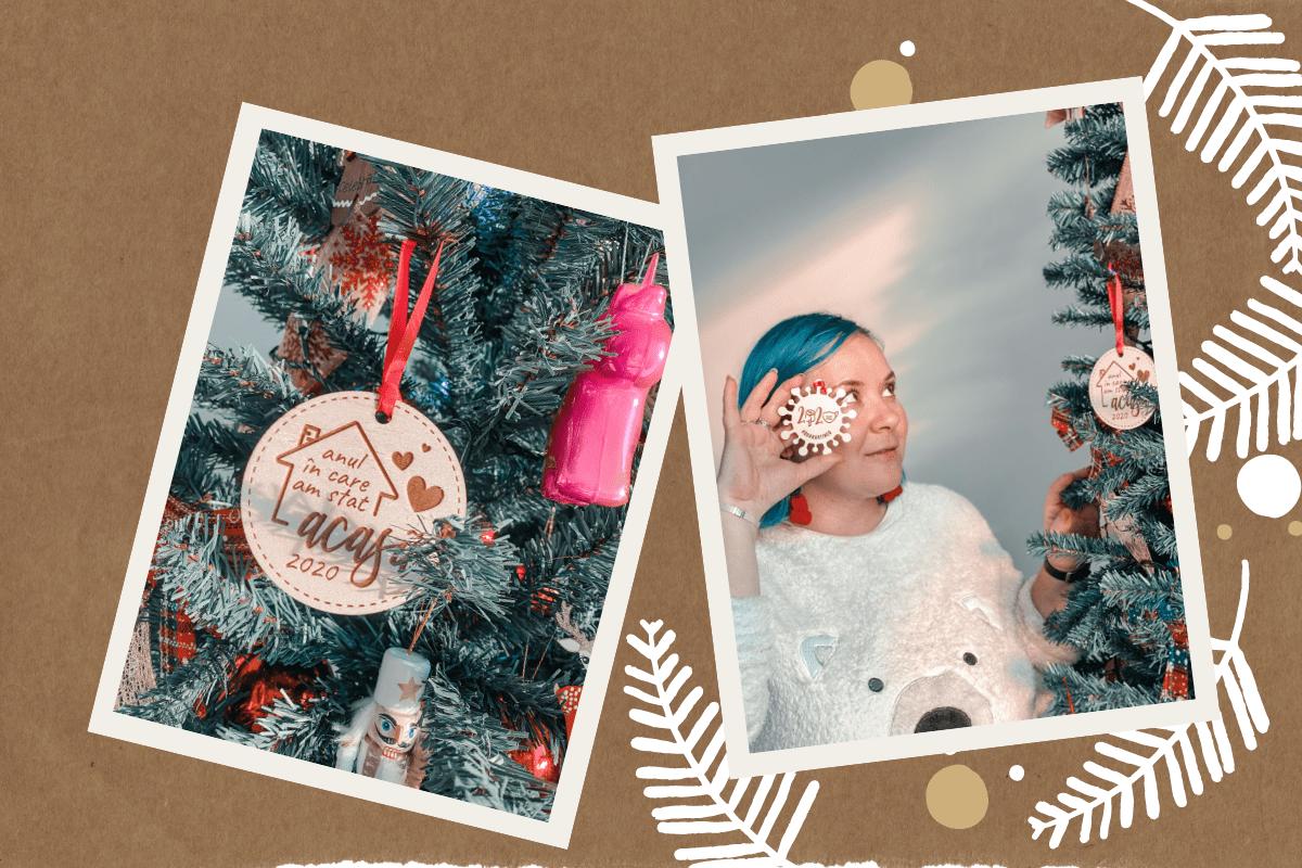 Detalii din bradul de Crăciun