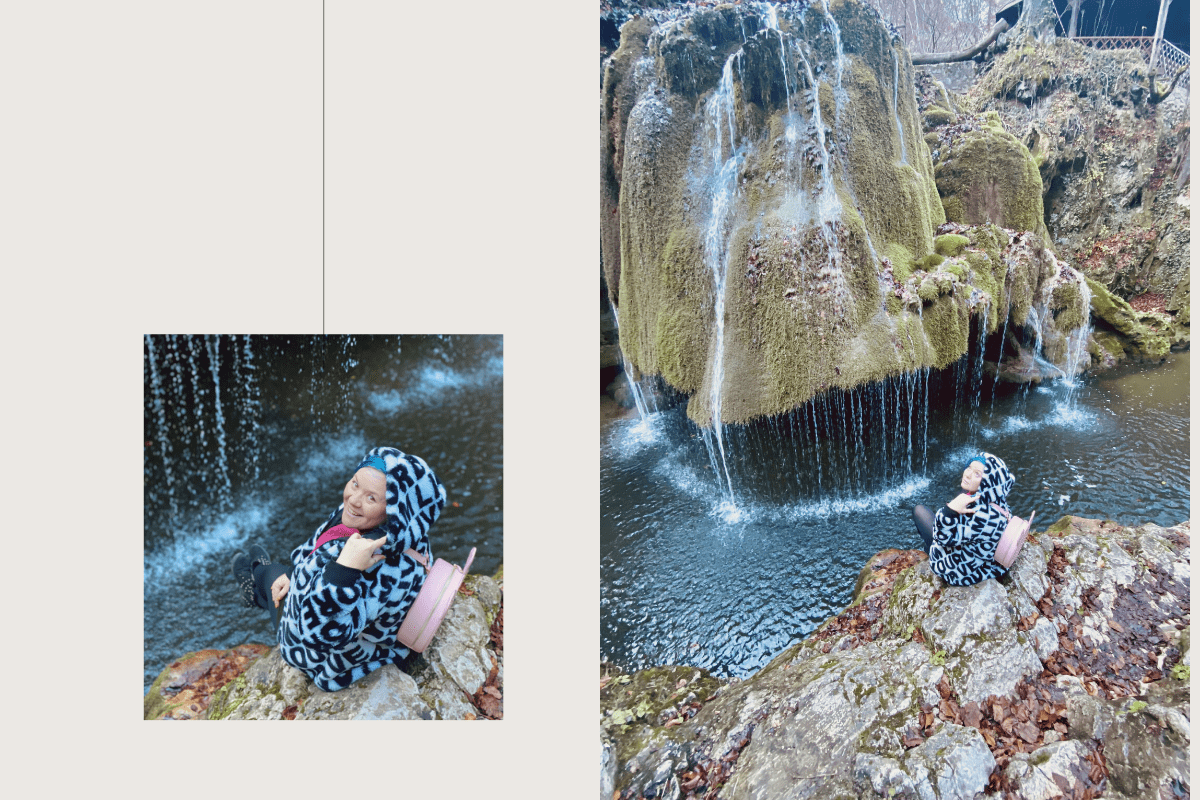 Andra și cascada Bigăr