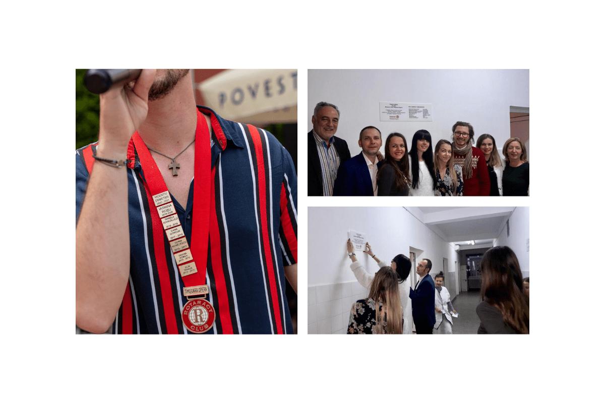 Activitatea lui Vicențiu Demeter în cadrul Rotaract