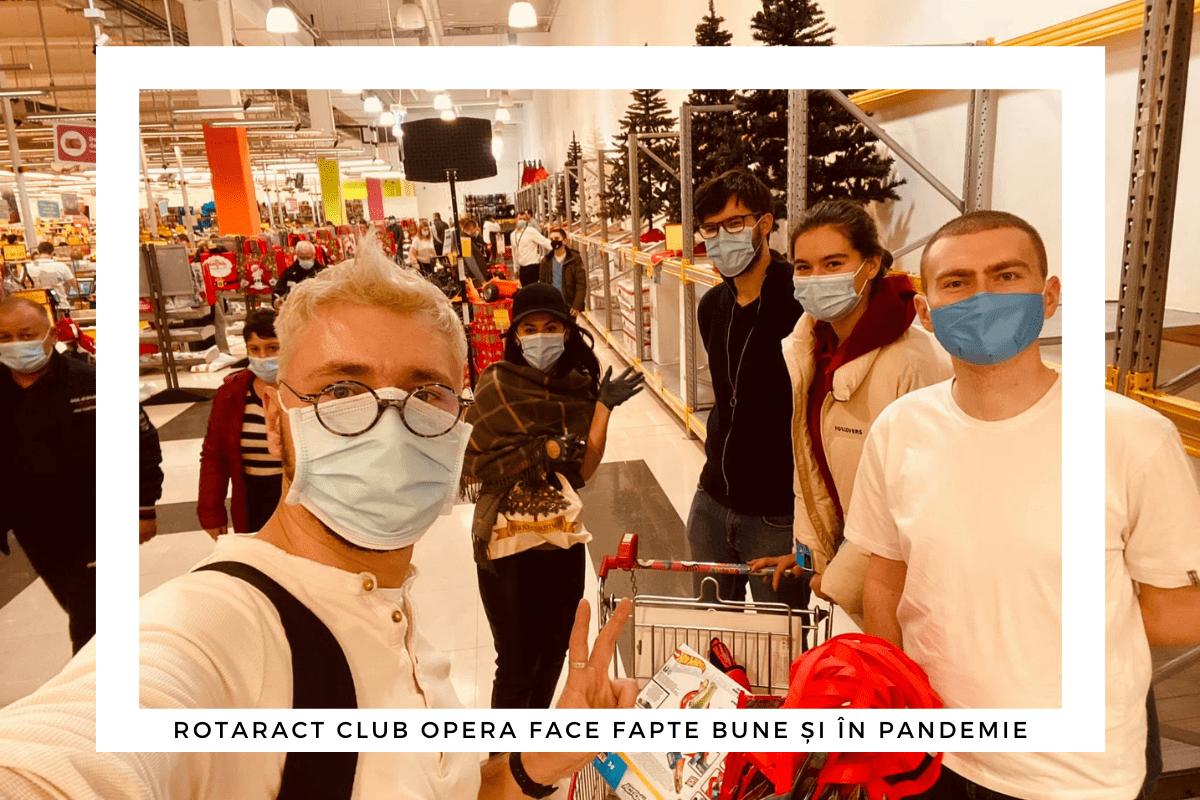 cumpărături în pandemie