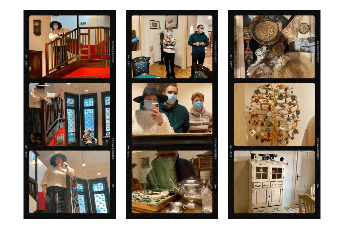 mici detalii din Muzeul Art Nouveau Oradea