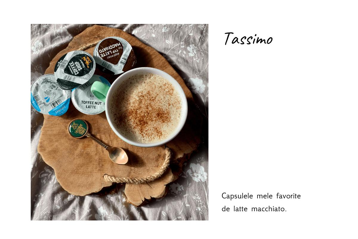 capsulele mele favorite Tassimo
