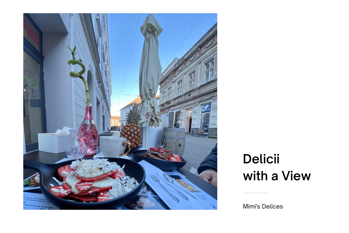 delicii with a view Mimi's Delices