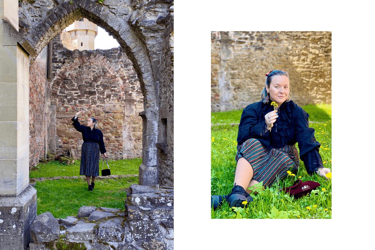 detalii din abația cisterciană cârța