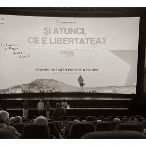imagini de la avanpremiera filmului si atunci ce e libertatea