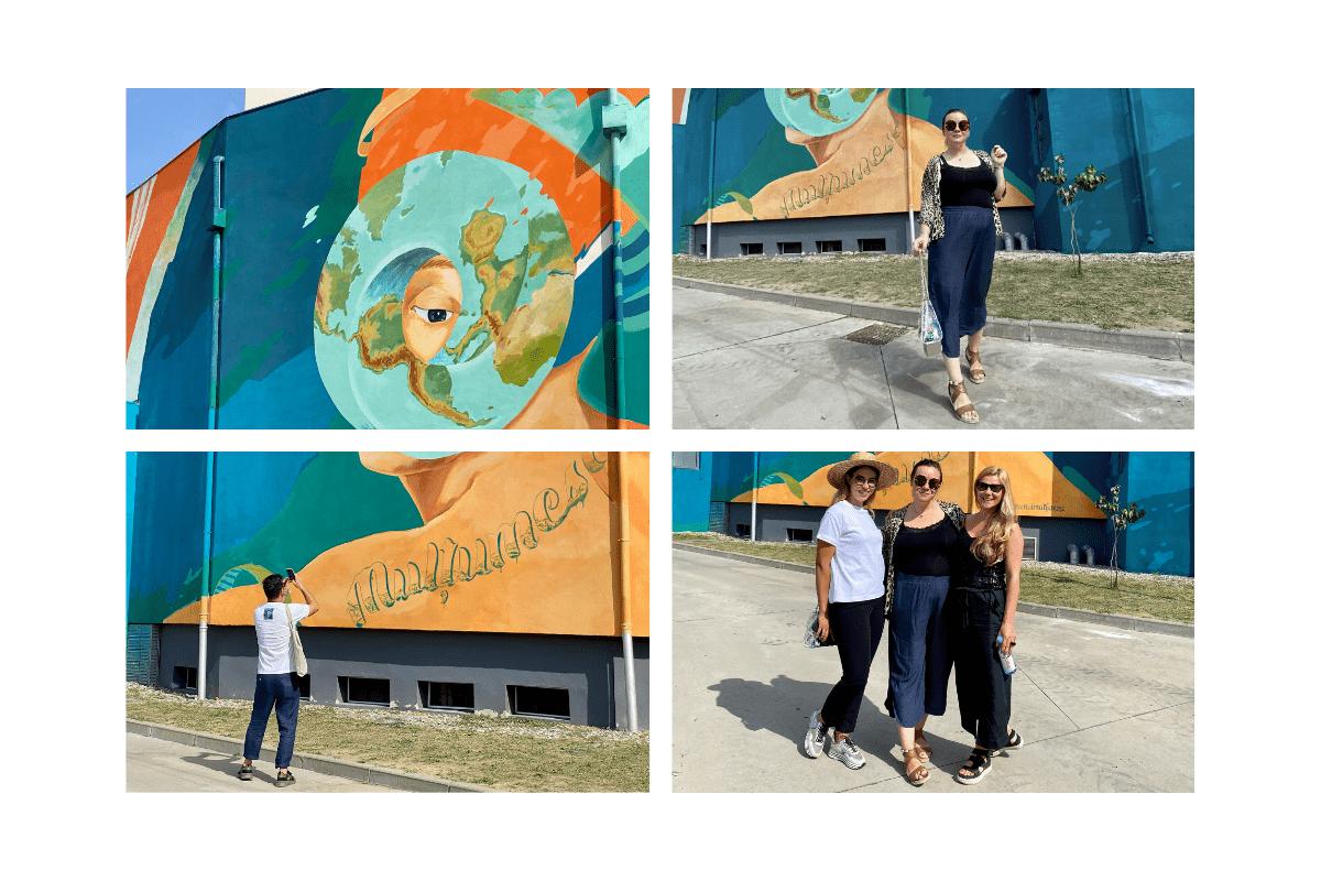 natura unui multumesc prima pictura murala ce purifica aerul