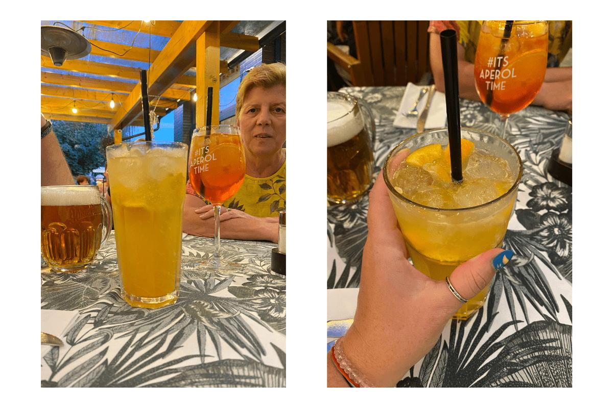 băuturi la nr. 8 restaurant hajduszoboszlo